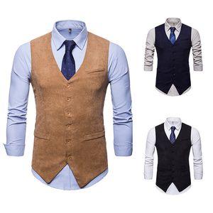 На заказ мужские новые вельветовые однорядные кнопочные доспехи мужские самосовершенствование чистый цвет западный стиль конный зажим увеличенный код