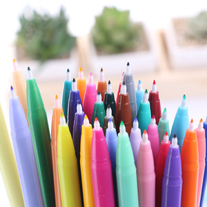 36 Colors Graffiti Sketch Painting Drawing Markers Anime Manga Felt Tip Pens Professional Brush Pens For School Art Supplies
