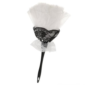 Funny Neck Tie Set Ties White Feather Duster Hen Night Party Costume Prop Novelty Gift Favors Funny Masquerade Flower Gift Party Props