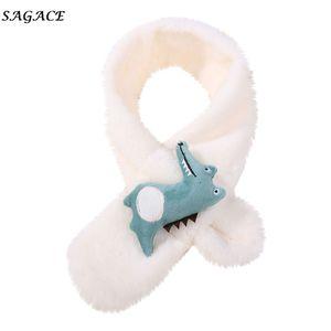 SAGACE enfant Echarpe unisexe bébé en peluche Cartoon Croix animal mignon écharpe anneau Sexy Girl Fashion animal Casaul
