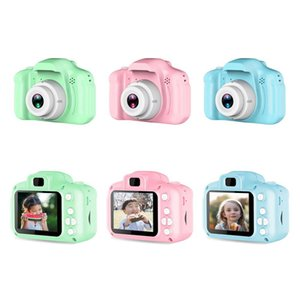 Cartoon Cute 2 Inch HD Screen Chargable Digital Mini Camera Kids Camera Toys Outdoor Photography Props for Child Birthday Gift