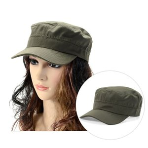 Sombrero militar del Ejército Cadet Patrulla Castro Cap Hombres Mujeres que conducen Sombreros de verano
