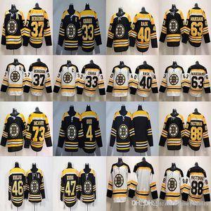 33 Zdeno Chara Jersey Boston Bruins 37 PatriceBergeron 40 Tuukka Rask 46 David Krejci 47 Torey Krug Hockey Maglie economici