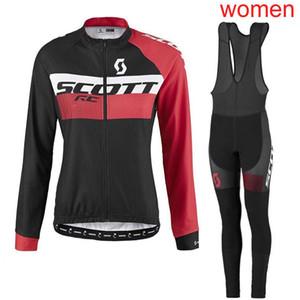 Yeni CUI Ekibi FDJ kadınlar bisiklet Jersey seti KTM Sonbahar nefes uzun kollu yarış bisikleti giyim MTB bisiklet spor Y052804