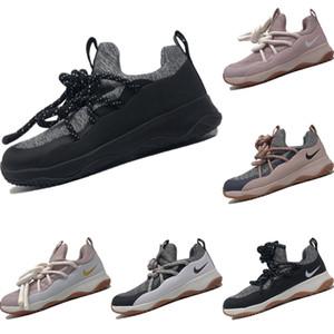 2020 City Loop tricot extensible sport originaux de chaussures W City Loop Bus Internet Celebrity Thicker sangles Tampon en caoutchouc Jogger Chaussures