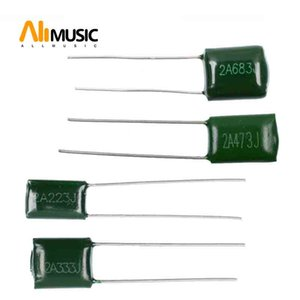 100Pcs Electric Bass Guitar Polyester capacitors 2A223J 0.023UF 2A333J 0.033UF 2A473J 0.047UF  2A683J 0.068UF Rated Voltage 100V