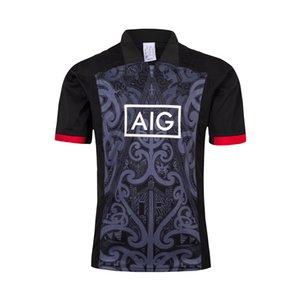 Melhores Qualidade 2020 Nova Zelândia Super Rugby Jersey Todas as equipas casa longe Maoris camisa Rugby Jerseys Desempenho Tee Singlet S-5XL