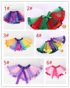 Наряды юбки балетной пачки маленьких девочек на день рождения для детей Party k0603