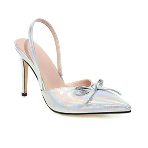 Women Pumps Sexy Summer Shoes High Heels Woman Party Shoes Slingback Pointed Toe Buckle Strap Female Dress Plus Size