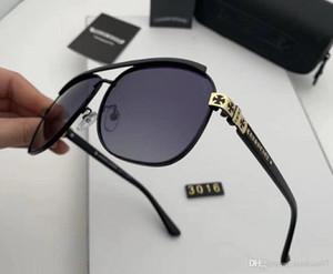 Designer Polarizerd Sunglasses for Mens Glass Mirror Gril Lense Vintage Sun Glasses Eyewear Accessories womens with box 3016#