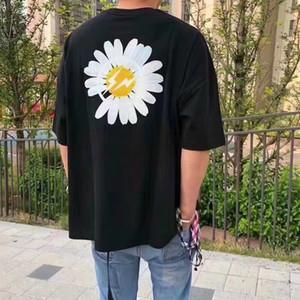 19SS Peacone FRAGNT camiseta de los hombres de las mujeres mejor de calidad superior Tees de gran tamaño camiseta Negro verano camisetas del diseñador de HFWPTX322
