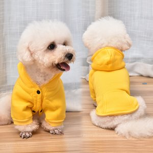 Neueste Pure Color Hunde-Bekleidung Teddy Poodle Pet Hoodies-Qualitäts-Frühlings-Katze Sweater Bomei Hunde-Bekleidung