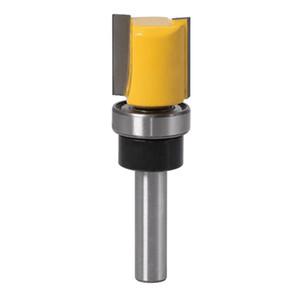 8 mm Vástago de ajuste al ras del router bit superior Bearking carpintería cortador