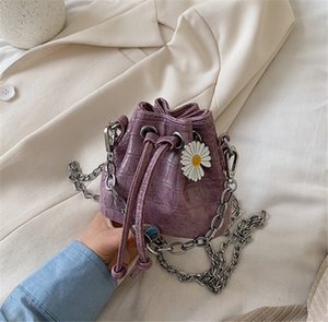 2020 New Textured Fashion Niche Textured Stone Mini Bucket Bag Shoulder Crossbody Bag PH-CFY2006012