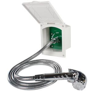 Белый TYTXRV душевая комплект коробка для Караван колесах лодка на колесах