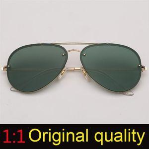 Top Quality Brand Designer Sunglasses Women Sun Glass Female Men Blaze gradient coating Mirror Uv400 Gafas Black Sunglass
