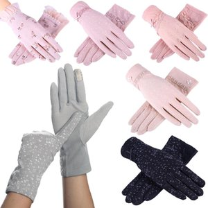 2020 New Fashion Women's Summer Driving Gloves Non-slip Block UV Touch Screen Gloves Cotton Women Envable Guantes