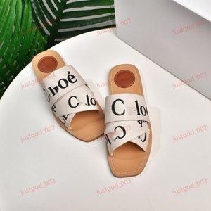 xshfbcl mujer de moda de verano al aire libre Peep Toe Mujeres zapatillas planas Cartas elástico zapatillas populares Cruz tela Vacaciones deslizadores ocasionales