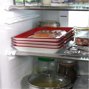 Vakuumbehälter Clevere Lebensmittelkonservierung Overlayable Fresh Keeping Reusable Exquisite Trays Opp Package Umweltfreundlich 20jz J1