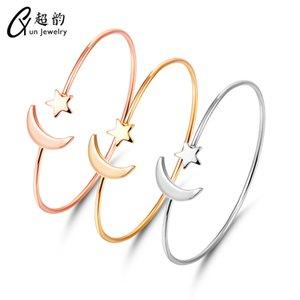 Jour Han Jianyue Originalité Ma'am ornements en or rose Ouvertures Bracelet main Décore