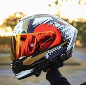 Shoei Full Face X14 93 MOTEGI2 chat chanceux Márquez Casque de moto moto de course motocross voiture homme équitation casque NOT-ORIGINAL-casque