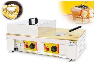 Souffler Makinası Çift tava Sufle Gözleme makine Souffler Waffle makinesi Makine Ticari Gözleme Gözleme Sufle LLFA
