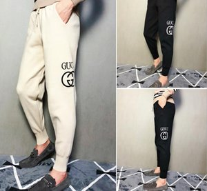 G hommes pantalons de survêtement de broderie de lettre de haute qualité designers suivre les joggers de yoga pantalons piste de jogging pantalon de survêtement streetwear