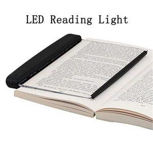 LED Luce della lettura del libro di notte della luce piatto piatto portatile della novità Lightwedge Led Desk Lamp per la casa i bambini Indoor Camera