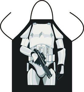 """1Pcs BBQ Aprons Polyester Lovely Printed Kitchen Cooking Home DIY Kitchen Outdoor Barbecue Accessorie New 73cm 28.4""""x57cm 22.2"""""""