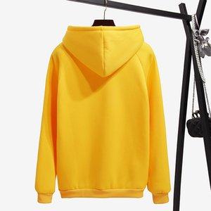 Kapşonlu Kadın Sweatshirt Kış Sonbahar Katı Kpop Kapüşonlular Kadınlar Polerones Bayanlar Kazak Femme 200.930 Sweat Isınma Surmiitro