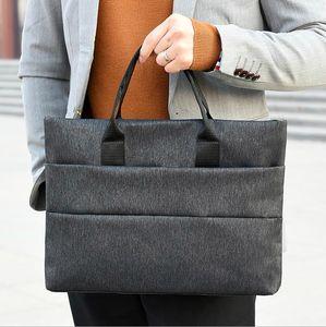 Design Briefcases Men Business Briefcase Man Casual Shoulder Messenger Bag Men's Handbag Cross Section Laptop Bag