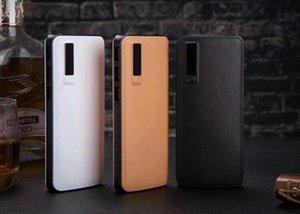 Novo padrão de pele 3USB display digital de energia móvel 10000 mAh tesouro de carregamento do telefone móvel universal
