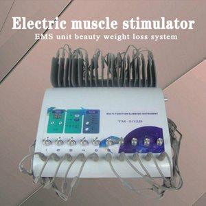 НОВИНКА !!! Высокое качество электрический стимулятор мышц электрический стимулятор мышц электротерапия машина EMS блок красоты система похудения