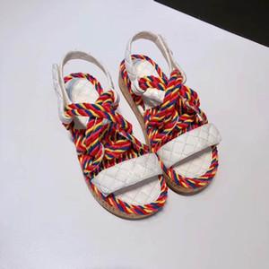 2020 nuevos arcos plana zapatillas de fondo usan los pies muy cómoda combinación clásica y hermosa perfecta para que usted pueda mostrar el noble y menú reduci