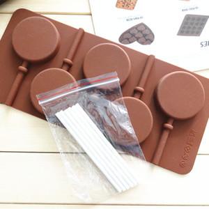 Alimentation 5 moule lollipop étoile même circulaire (hors petit bar) peut être dans le moule à gâteau four