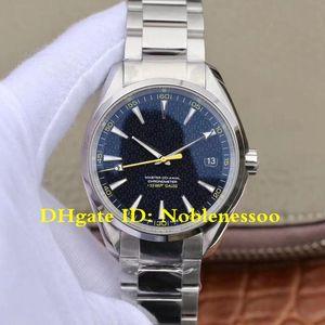 2 Estilo Movimiento CAL.8507 para hombre 41.5mm Aqua Terra Spectre Bond LE reloj 231.10.42.21.03.004 Relojes de James Bond 007 VS fábrica automático de los hombres de