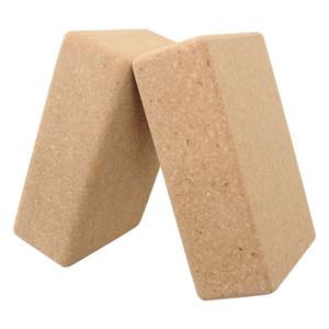 Gymnastik-Eignung von Sport High Density Natur Non Toxic Eco Cork Yoga-Block für die Yoga-Übung