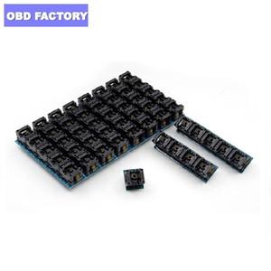 Adaptador de corriente SOP8 SOIC8 a DIP8 EZ zócalo del módulo del convertidor Programador de salida con 150mil Conector SOIC 8 SOP 8 Para DIP