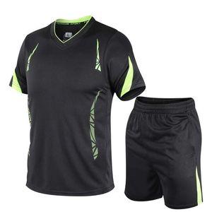 Men's Designer Tracksuits 2020 New Arrival Fashion Summer Mens Active Two Pieces Suits Brand Casual Sport Suit 6 Colors Size M-4XL