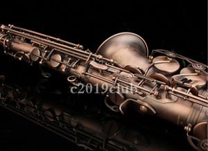 케이스 액세서리 무료 배송 새로운 도착 브랜드 명이없는의 Eb 조정 알토 색소폰 E 플랫 황동 골동품 구리 색소폰 악기