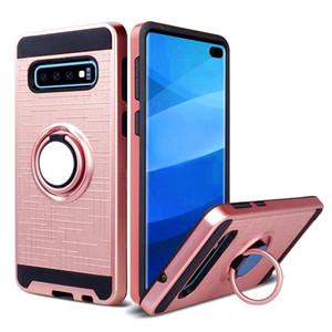 Para Samsung Galaxy S20 PLUS ULTRA A01 A20S A11 A71 51 à prova de choque Armadura híbrido 360 Caso anel Degree