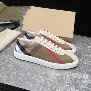 Primera marca con cordones ocasionales del tamaño Moda Hombres Zapatos 2020 Manualof imagen Movimiento planos de cuero avanzada 38 ~ 45 Ngujx