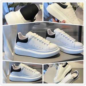 2020 mulheres moda de luxo Platform cobra sapatos mens pele grife grife sapatos triplo preto branco de veludo sapatilhas ocasionais
