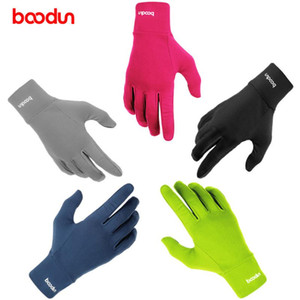 Boodun Winter Windproof Warm Cycling Full Finger Gloves Outdoor Sports Weight Lifting Bicycle Skiing Running Gloves