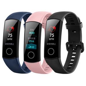 Orijinal Huawei Honor Band 4 NFC Akıllı Bilezik Nabız Akıllı İzle Sports Tracker Akıllı Kol İçin Android iPhone iOS Telefon