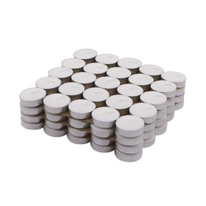TPFOCUS 100Pcs Romantic Round Smokeless Tealight Candles for Decoration Photophore Round Candles Y200531