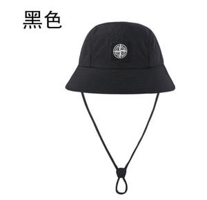 Новейшая мода классический высокое качество ведро шляпа бренд котелок Cap лето мужчины женщины Спорт на открытом воздухе зонт досуг эластичная веревка рыбак шляпы