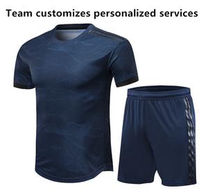 TOP Player versão 19 20 DIY Soccer Jersey em branco Real Madrid Adulto kit equipe costume escola serviços personalizados respirável Football Shirt