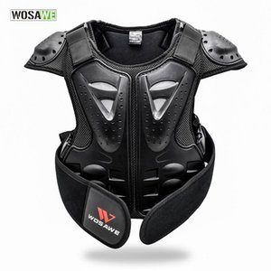 Children Body Protector Chest Guard Spine Protective Vest Cycling Jacket Kids Body Amour Gear Motocross Bike Downhill Protector