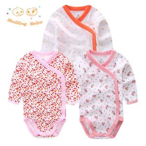 Souriant Bébé 3 Pcs / lot Mode Body Infantile Combinaison À Manches Longues Vêtements Set Summer Christmas Bébé Fille Vêtements Q190518